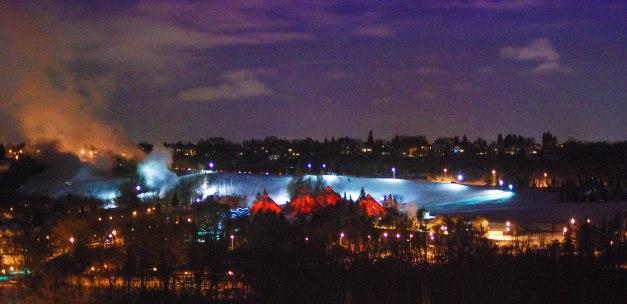"""Pyramids Red"" Edmonton's Muttart Conservatory"