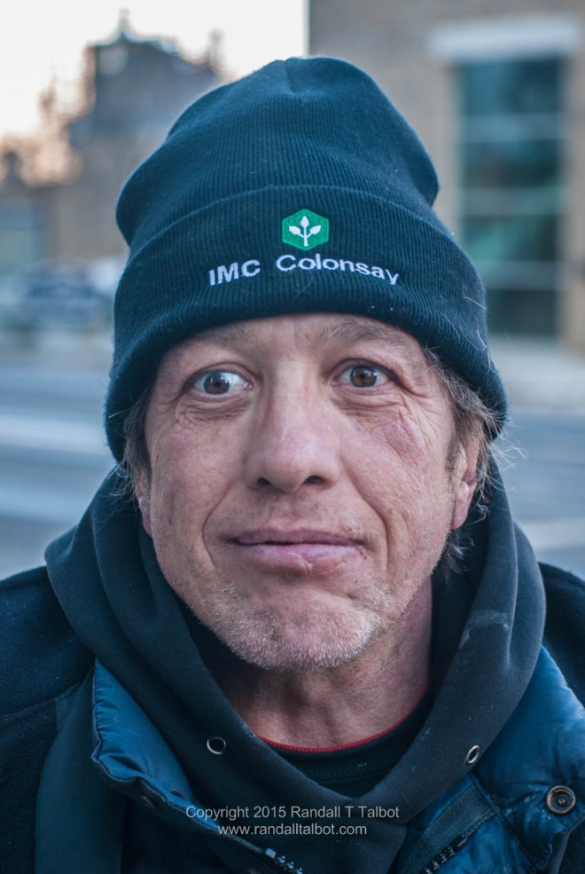 Portrait of a Man on the Street