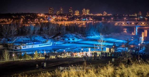 The Edmonton Queen in the Ice