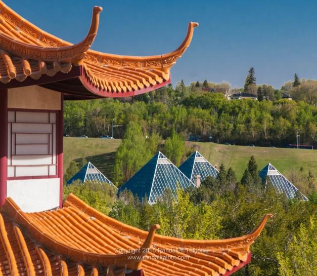 Pagoda and Pyramids