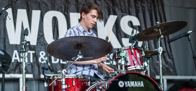 Murray Smith on drums