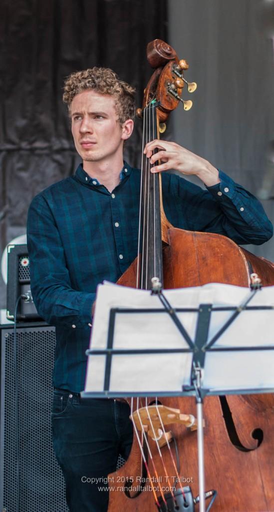 Murray Wood on bass
