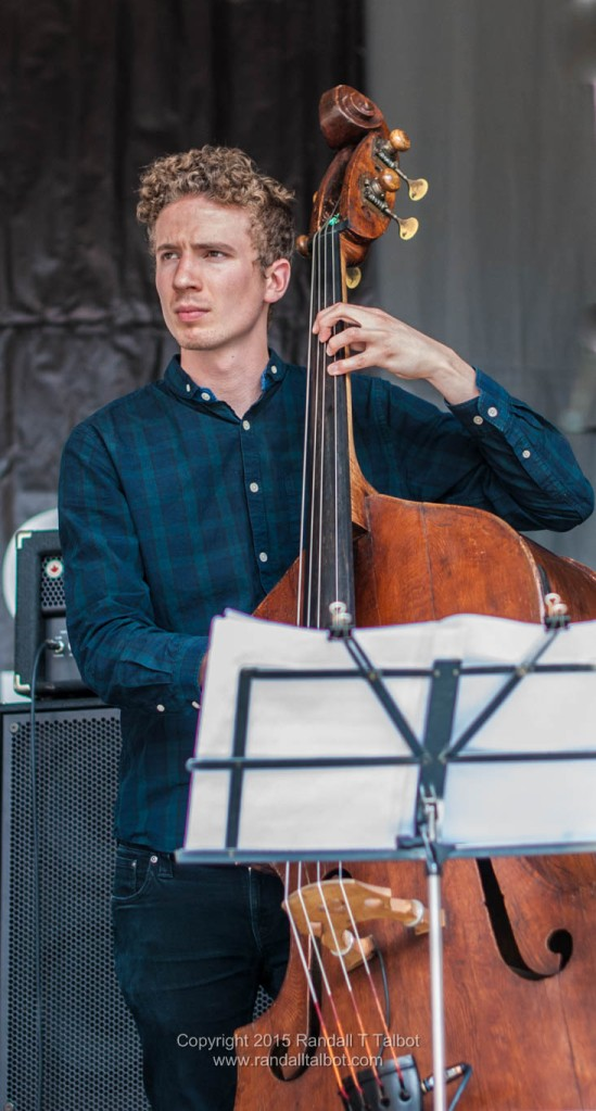 Murray Wood on bass