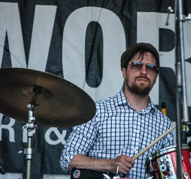 Lowell Whitty on drums