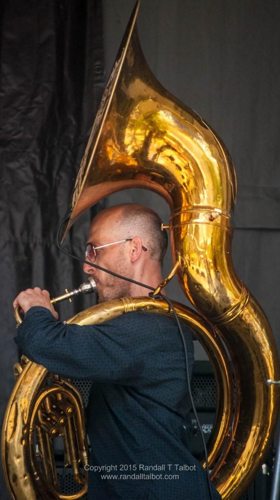 Rob Teehan, Sousaphone