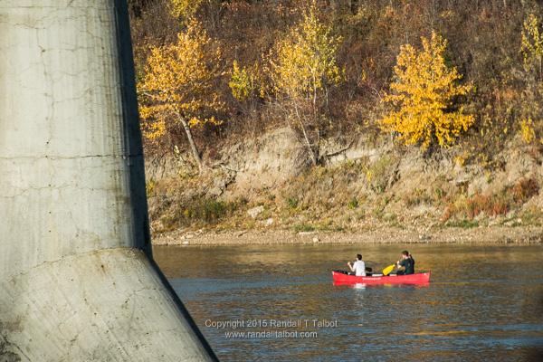 Two in a Canoe
