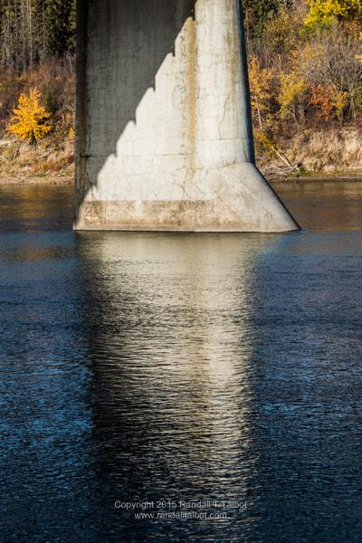Under the Dawson (bridge)